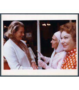 "Ingrid Bergman and Gloria Swanson - Vintage Original Photo 10"" x 8"""