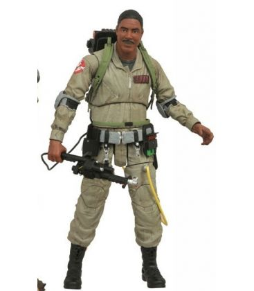 Ghostbusters - Winston Zeddemore - Action Figure Diamond Select Toys