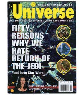 SCI-FI Universe N°22 - Février 1997 - Magazine américain avec Star Wars