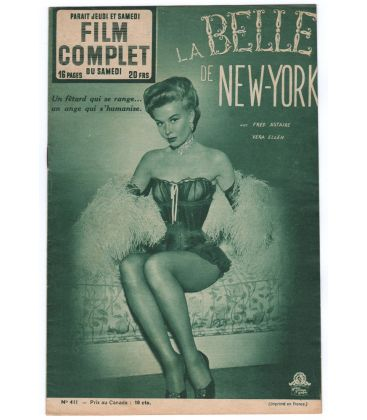 The Belle of New York - Vintage Film Complet Magazine