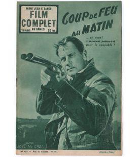 Coup de feu au matin - Ancien magazine Film complet de 1953