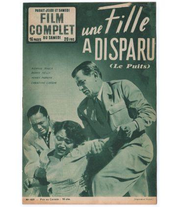 Une fille a disparu - Ancien magazine Film complet de 1953