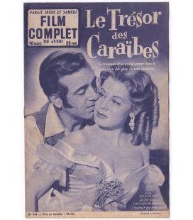 Le Trésor des Caraïbes - Ancien magazine Film complet de 1953