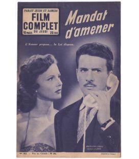 Mandat d'amener - Vintage Film Complet Magazine