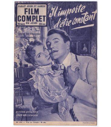 Il importe d'être constant - Ancien magazine Film complet de 1953