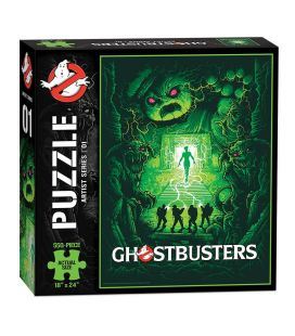 Ghostbusters - 550 Pieces Collector's Puzzle - Artist Series 01