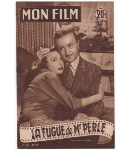 La Fugue de Monsieur Perle - Ancien magazine Mon film N°362 de 1953
