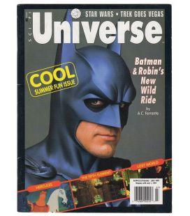SCI-FI Universe N°28 - Juillet 1997 - Magazine américain avec Batman