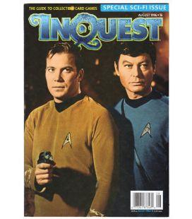 Inquest Magazine N°16 - August 1996 issue with Star Trek