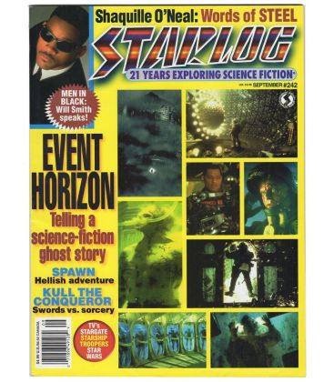 Starlog N°242 - Septembre 1997 - Magazine américain avec Will Smith
