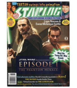 Starlog N°263 - Juin 1999 - Magazine américain avec Star Wars