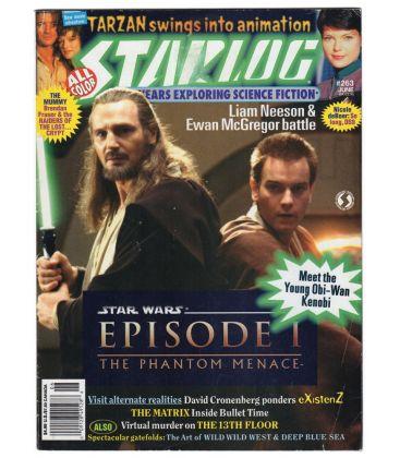 Starlog N°2 - Juin 1999 - Magazine américain avec Star Wars