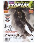 Starlog N°356 - Juin 2007 - Magazine américain avec Jack Sparrow
