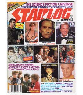 Starlog N°96 - Juillet 1985 - Ancien magazine américain avec Mad Max
