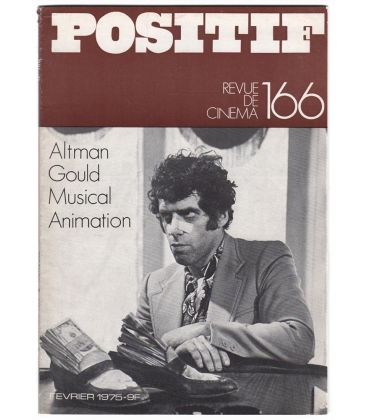 Positif Magazine N°166 - Vintage February 1975 issue with Elliott Gould