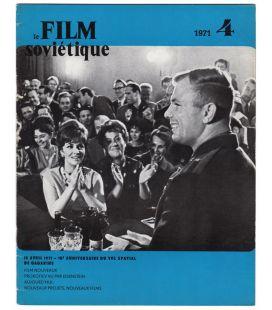 Le film soviétique N°4 - Avril 1971 - Ancien magazine russe avec Youri Gagarine