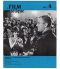 Le Film Sovietique Magazine N°4 - Vintage April 1971 issue with Youri Gagarine