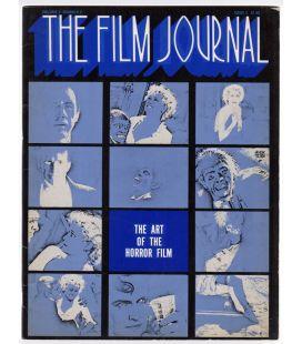 The Film Journal N°5 - 1973 - Ancien magazine américain : The Art of the Horror Film