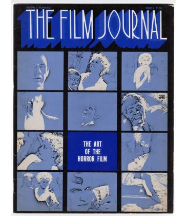 The Film Journal Magazine N°5 - Vintage 1973 issue The Art of the Horror Film