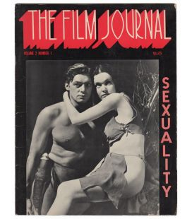 The Film Journal N°2 - Septembre 1972 - Ancien magazine américain : Numéro spécial sexe