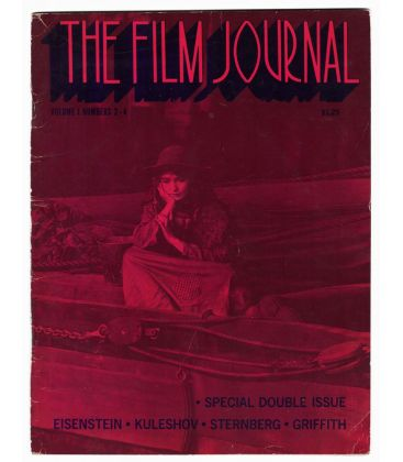 The Film Journal Magazine N°3 - Vintage 1972 issue with Lillian Gish