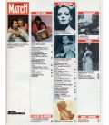 Paris Match Magazine N°1744 - Vinbtage October 29, 1982 issue with Romy Schneider