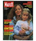Paris Match Magazine N°1692 - Vintage October 30, 1981 issue with Romy Schneider