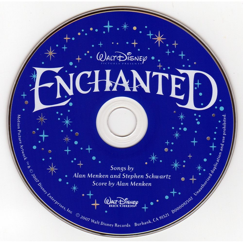 Movie enchanted soundtrack