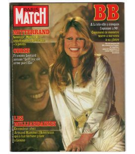 Paris Match Magazine N°1755 - Vintage January 14, 1983 issue with Brigitte Bardot