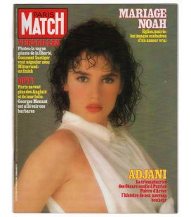 Paris Match Magazine N°1816 - Vintage March 16, 1984 issue with Isabelle Adjani