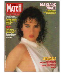 Paris Match N°1816 - 16 mars 1984 - Ancien magazine français avec Isabelle Adjani