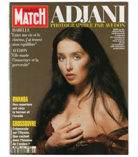 Paris Match Magazine N°2343 - April 21, 1994 issue with Isabelle Adjani