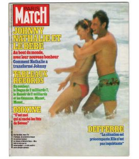 Paris Match Magazine N°1775 - Vintage June 3, 1983 issue with Nathalie Baye