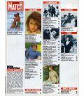 Paris Match Magazine N°1775 - Vintage June 3, 1983 issue with Nathalie Baye