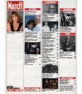 Paris Match Magazine N°1827 - Vintage June 1, 1984 issue with Nathalie Baye