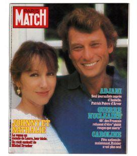 Paris Match N°1801 - 2 décembre 1983 - Ancien magazine français avec Nathalie Baye