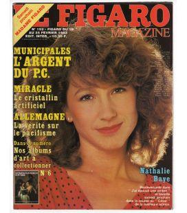 Le Figaro Magazine N°192 - Vintage february 19, 1983 issue with Nathalie Baye
