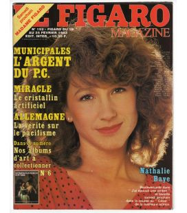 Le Figaro N°192 - 19 février 1983 - Ancien magazine français avec Nathalie Baye