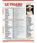 Le Figaro Magazine N°192 - Vintage february 19, 1983 issue with Nathalie Baye