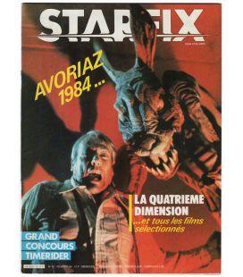 Starfix Magazine N°12 - Vintage february 1984 issue with Twilight Zone