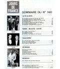 Jours de France Magazine N°1431 - Vintage june 5, 1982 issue with Romy Schneider