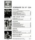 Jours de France Magazine N°1324 - Vintage may 17, 1980 issue with Carole Laure