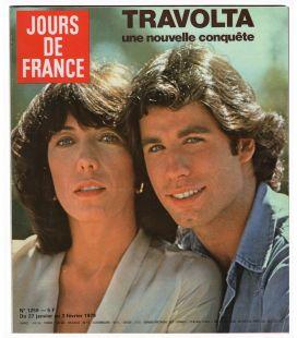 Jours de France N°1259 - 27 janvier 1979 - Ancien magazine français avec John Travolta