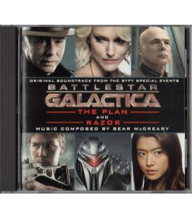 Battlestar Galactica - The Plan and Razor - Trame sonore - CD