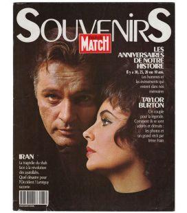 Paris Match Souvenirs 1989 Magazine - 1989 issue with Elizabeth Taylor and Richard Burton