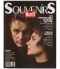 Paris Match Souvenirs 1989 Magazine - 1989 issue with Elizabeth Taylor and Richard Burton