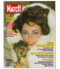 Paris Match Magazine N°1711 - Vintage march 12, 1982 issue with Elizabeth Taylor