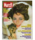 Paris Match N°1711 - 12 mars 1982 - Ancien magazine français avec Elizabeth Taylor