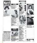 Paris Match Magazine N°1711 - Vintage march 12, 1982 issue with Elizabeth Taylor
