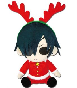 Black Butler - Ciel Christmas Santa - Japanese Anime Plush